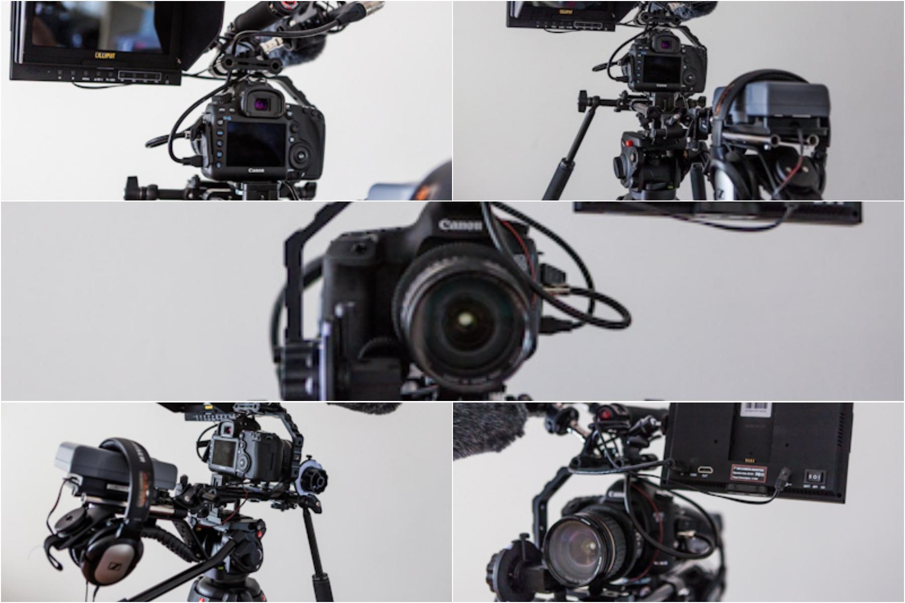 filmowanie dslr sprzęt